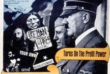 """Making the Revolution! / """"Parce que les seuls gens qui m'intéressent sont les fous furieux, les furieux de la vie, les furieux du verbe, qui veulent tout à la fois.""""   Jack Kerouac"""