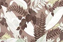 Botanical Vintage Wallpaper
