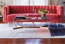 Ruby Red / Red Home Decor Ideas