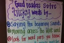 Anchor Charts / Learning! Learning! Learning!