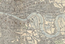 Old London Maps / by Tina Alsford