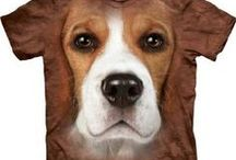 T-Shirts with Dog Faces