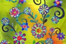 Flower quilts / Quilts and flowers go together like needle and thread! This board is for beautiful flower quilts, and inspiring flower pictures that may someday find their way into one of my designs.