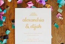 | makr weddings | / Makr favorites for a one-of-a-kind wedding.