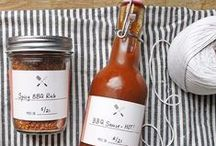 | makr food gifts | / Yummy foodstuffs, sweet packaging and happy hearts (and stomachs).