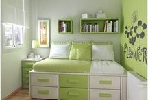 Multifunctional furniture and small spaces