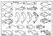 Piirretään kaloja