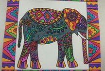 Intialaisia norsuja