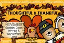 Thanksgiving Resources on TpT / All the best to be Thankful for....lesson planning made easy ! Post up to 2 Thanksgiving Resources a day. For every 2 posted, add in 1 free idea for this season. To join, please email wendylynnswonders@gmail.com