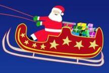 Christmas music and animations (English and Finnish)