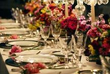 Table art / Gorgeous table setting ideas for elegant occasions. ❤ ❤ ❤