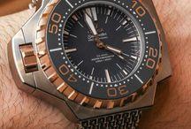Ω / Omega watches.