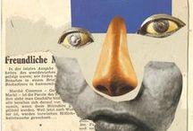 Dada/Collage / dada art & collage