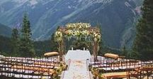 It's All About The Wedding Location / Location is important to a wedding. It sets up the entire ambience of the wedding day and theme, so we have to get it right! This board is a compilation of a few wonderful locations to give you some inspiration.