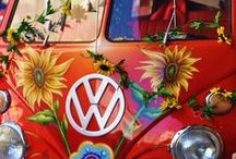 Campervans / Amanda has a passion for the VW Campervan's and Beetles and has her own Passion Wagon 'Poppy', The Serendipity Experience Carriage.