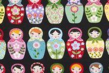 Matryoshka and Folk Dolls