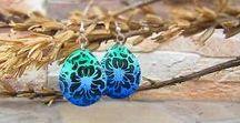 My handame jewerly / My handmade earrings