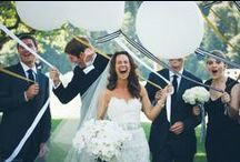 {A Black and White Wedding}