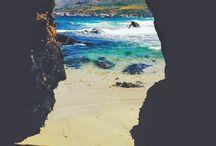 Somewhere far away.. / Travel, sun, beach, ocean, palms, dreaming...