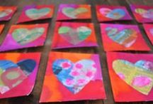 Valentine Preschool Stuff / Lovesy-Hearsty Art, Songs, Sensory & Science Play.