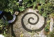 Small Gardens / Design of small gardens