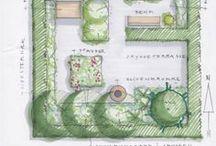 Garden Plans / Eksempler på haveplaner / Garden Plans