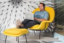 Yellow / Your Space, Your way. #yellow #mellowyellow #yellow_office #amarillo