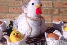 !! PASQUA  - PRIMAVERA !! / idee,addobbi,crochet e suggerimenti per la bella stagione