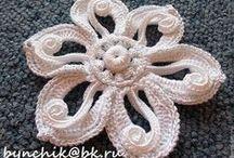 crochet FREEFORM / tecnica FREEFORM in crochet