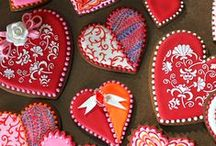 !!❤️CUORI❤️!! / cuori in crochet,in stoffa,in feltro,di carta,ecc...........