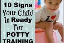 Potty Training / Tips and tricks to help get your child out of diapers and going to the bathroom like a big kid.