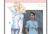 Sew Chic Pattern Ehlen Blouse #LN1313 : Womens Sewing Pattern / Love the Ehlen Blouse? On this board we have collected everything on the web into one place to help you plan,sew, and wear this blouse by Sew Chic Patterns