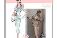 Sew Chic Pattern Fifth Avenue #LN1311 : Womens Sewing Patterns / Love the Fifth Avenue Dress? On this board we have collected everything on the web into one place to help you plan, sew, and wear this dress by Sew Chic Patterns