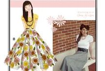 Sew Chic Pattern Starter Skirt #LN1000 : Womens Sewing Patterns / Love the Starter skirt? On this board we have collected everything on the web into one place to help you plan, sew, and wear this skirt by Sew Chic Patterns