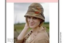Sew Chic Pattern Cloche Hat #LN101 : Womens Sewing Patterns / Love the Cloche Hat? On this board we have collected everything on the web into one place to help you plan, sew, and wear this hat by Sew Chic Patterns