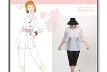 Sew Chic Pattern Phantom #LN1106 : Womens Sewing Patterns / Love the Phantom? On this board we have collected everything on the web into one place to help you plan, sew, and wear this jacket by Sew Chic Patterns