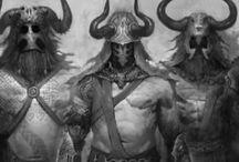 Héroes y Seres Mitológicos