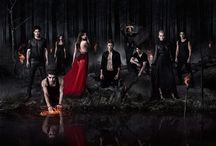 The vampire diaries / It's about vampires and witches and wolfs  / by Kasia Skwierczynski
