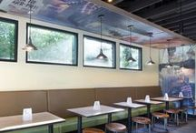 Restaurant Design / The restaurant environment is as much a part of the experience as the food it serves. Whether it is a breakfast cafe, trendy taqueria, local burger bar, or luxury restaurant, we have helped create that desired experience with our product solutions that protect your physical space and your brand.