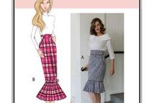 Sew Chic Pattern Vignette Skirt LN1618 / On this board we are collecting everything on the web into one place to help you plan, sew, and wear this skirt by Sew Chic Patterns