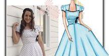 Sew Chic Pattern Averly Dress / #LN1720 Averly Dress Pattern by Sew Chic Patterns