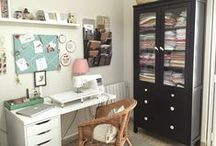 Craft and sewing room