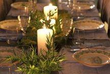Tafels / Gedekte tafel idees en mooi eetgoed