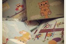 My Works / Biglietti d'auguri, cartoline, inviti per le feste, spille e altre piccole idee grafiche!
