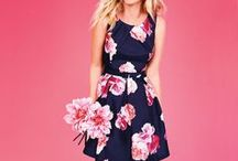 In Bloom collection - women / Winter is over...time for spring fashion to bloom! check our collection of pastel, floral prints, easy breezy dresses, nautical stripes and more.