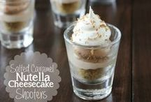 Sweet Dessert Shooters / Sweets are great in small packages!  I love dessert but love to try so many of them.  With dessert shooters you can have a bite or two of so many different things!!