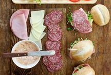 Sliders and Small Sandwiches / I love a great sandwich but not a big one!  This board is full of yummy sliders and small sandwiches that are perfect for parties or a weekend snack!