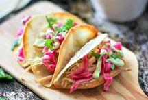 Tacos, Burritos, and Enchiladas / Grab a recipe here for some great tacos, enchiladas, and burritos!  I love all types of Mexican food and I know you do too!