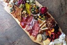 Cheese Board Heaven / Need some inspiration for your next cheese board? Look no further!  From Charcuterie to picking the best cheeses, these board will show you how to display and present a cheese board at your next party!