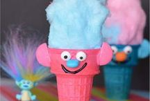 Trolls Party Theme / Birthday party ideas for baby girl.